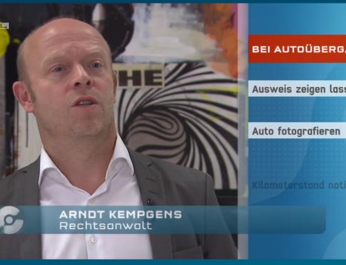 RTL Aktuell 20.6.: Flughafen-Parkplatz-Abzocker vor Gericht. Wie Sie sich schützen können? RA Kempgens im Interview.