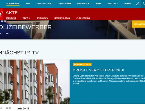 TV-Tipp Di., 18.9., 22.15 Uhr. Akte2018 berichtet über kuriosen Pkw-Unterschlagungsfall. RA Kempgens im Experteninterview.