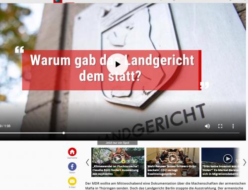 """Focus 8.11.18: Berliner Landgericht stoppt """"Mafia""""-Fernsehbeitrag des MDR. RA Kempgens im Interview bei Focus online"""