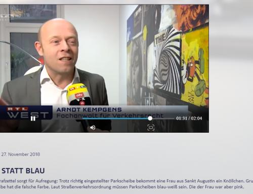 RTL 27.11.: Pinke Tussischeibe eckt an. Behördenirrsinn live. RA Kempgens im RTL-Interview..