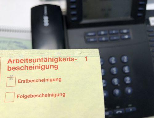 Kanzlei-Info 5.2.2019: Krank im Job. Was müssen Arbeitnehmer unbedingt beachten?