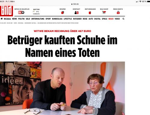 BILD 1.3.: Kurioser Mandantenfall in BILD. RA Kempgens im Interview