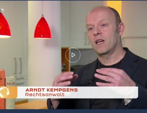 "RTL ""Punkt 12"" am 5.3.: ""Kinderfänger""-Fall von Velbert schockt Eltern. RA Kempgens im RTL-Interview"