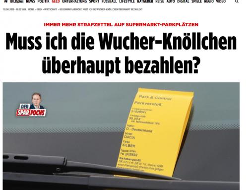 "BILD 8.6.: Heftige Kritik an ""Privatknöllchen"" am Supermarkt. RA Kempgens im Interview. MUSTERBRIEF unserer Kanzlei online."