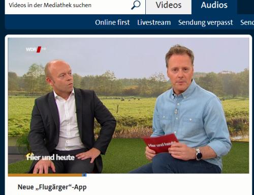 """WDR Fernsehen 11.10.: Reiserecht aktuell. RA Kempgens live bei """"hier und heute"""". Was tun bei Ärger mit Flügen?"""