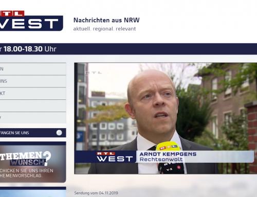 RTL 4.11. Gefährlicher Flaschenwurf von Kamen fahrlässig oder Gefährliche Körperverletzung. RA Kempgens im Interview