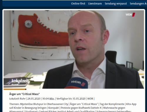 WDR TV Lokalzeit Ruhr 24.1.