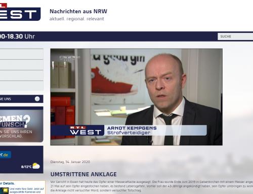 RTL 14.1. Umstrittene Anklage im Gelsenkirchener Messerstecher-Prozess
