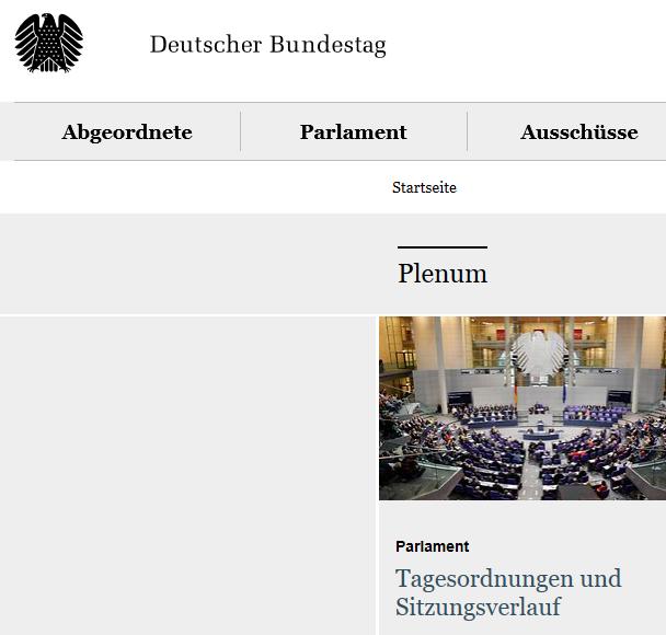 Gutscheinlösung Bundestag