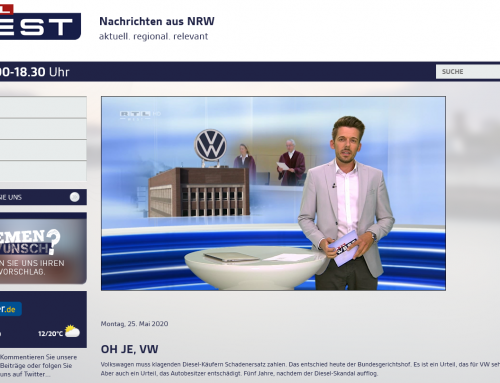 25.5. Bahnbrechendes BGH Urteil im VW-Diesel-Skandal