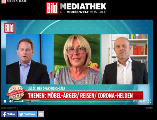 9.7. BILD TV heute live mit TV Legende Margarete Schreinemakers..