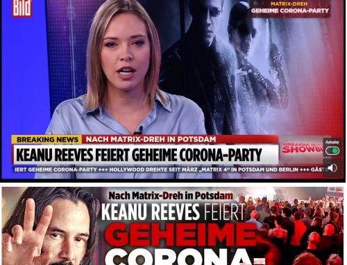 13.11. Geheime Corona-Party am Matrix-Filmset in Berlin (heutige BILD)? Anlass und Ablauf streitig.  Worauf kommt es rechtlich an?