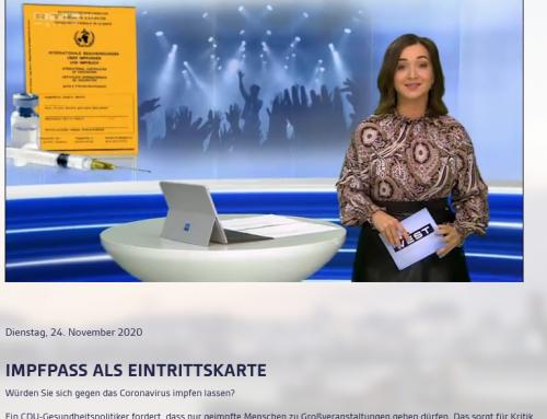 24.11.: Impfpass als Eintrittskarte? Den aktuellen Stand zur hitzigen Debatte sehen Sie im heutigen RTL Bericht: