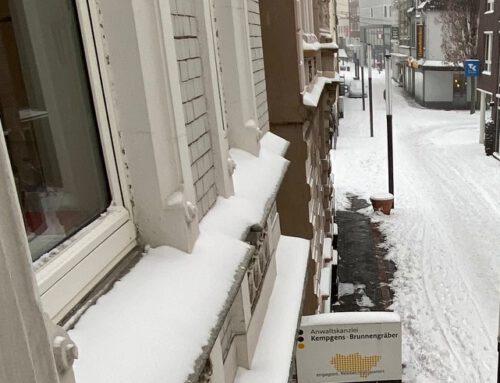 7.2. Schnee und Eis in ganz Deutschland. Achtung Haftung. Die wichtigstens Schnee-Infos.
