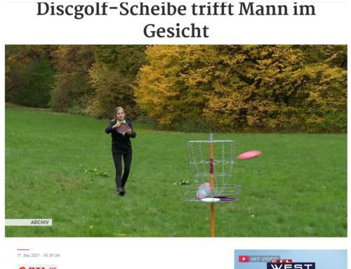 RTL 11.5.21: Kurioser Unfall im Park. Fußgänger wird durch Frisbee-Scheibe verletzt. Wer haftet?