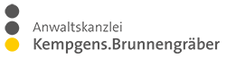 Anwaltskanzlei Kempgens. Brunnengräber Logo